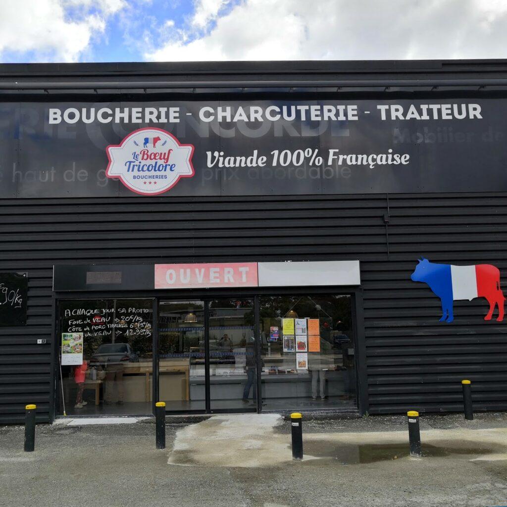 Le Boeuf Tricolore La Boucherie des Copains